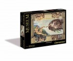 Museum Collection - Michalangelo - The Creation of Man - Puzzle 1000