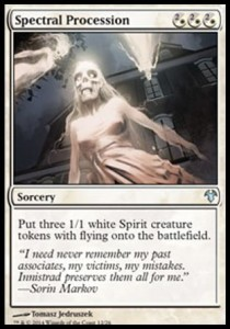 Spectral Procession (Modern Event Deck)