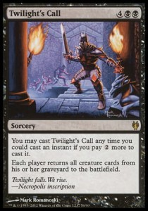Twilight\'s Call (DD: Izzet vs Golgari)