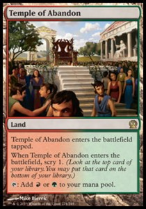 Temple of Abandon (Theros)