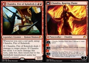 Chandra, Fire of Kaladesh / Chandra, Roaring Flame (Magic Origi)