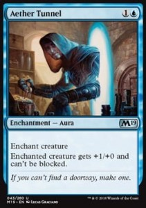 Aether Tunnel (M19 Core Set)