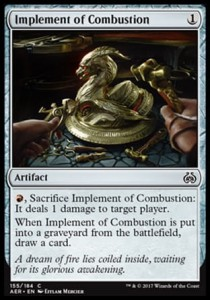 Implement of Combustion (Aether Revolt)