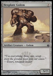 Hexplate Golem (Mirrodin Besieged)
