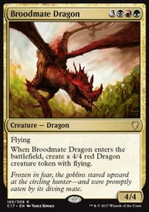 Broodmate Dragon (Commander 2017)