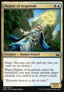 Deputy of Acquittals (Modern Masters 2017)
