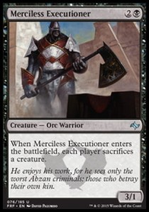 Merciless Executioner (Fate Reforged)