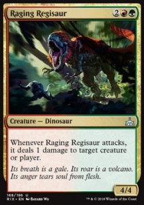 Raging Regisaur (Rivals of Ixalan)