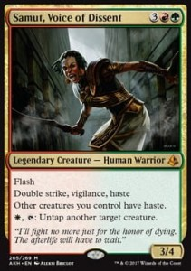 Samut, Voice of Dissent (Amonkhet)