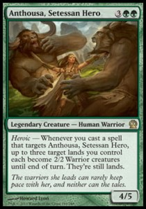 Anthousa, Setessan Hero (Theros)