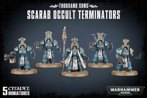 Thousand Sons - Scarab Occult Terminators - WH 40K