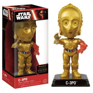 Wacky Wobblers - Star Wars Episode VII - C-3PO