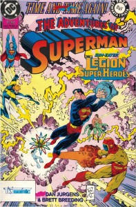 TM - Semic - Superman 7/1993 - Time and Time Again! cz IV i V