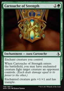 Cartouche of Strength (Amonkhet)