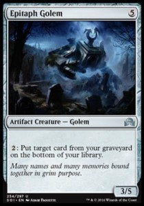 Epitaph Golem (Shadows over Innistrad)