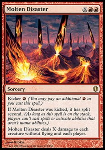 Molten Disaster (Commander 2013)