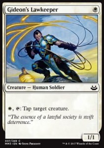 Gideon's Lawkeeper (Modern Masters 2017)