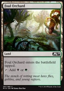 Foul Orchard (M19 Core Set)