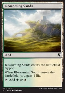 Blossoming Sands (Commander 2018)