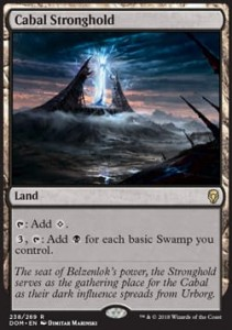 Cabal Stronghold (Dominaria)