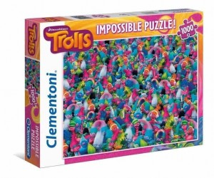 Impossible Puzzle - Trolls - Puzzle 1000