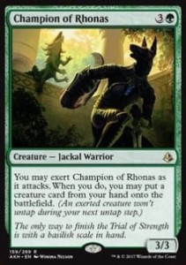 Champion of Rhonas (Amonkhet)
