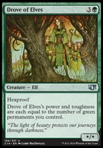 Drove of Elves (Commander 2014)