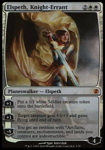 Elspeth, Knight-Errant - FOIL (DD: Elspeth vs Tezzeret)