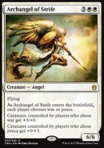 Archangel of Strife (Commander Anthology 2017)