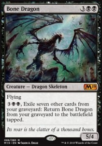 Bone Dragon (M19 Core Set)