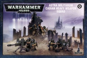 Astra Militarum Cadian Heavy Weapon Squad - WH 40K