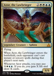 Azor, the Lawbringer (Rivals of Ixalan)