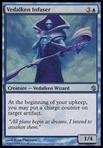Vedalken Infuser (Mirrodin Besieged)