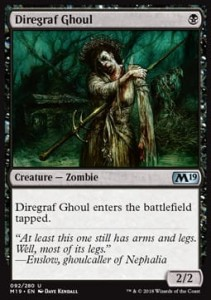 Diregraf Ghoul (M19 Core Set)