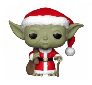 Funko POP Star Wars - Holiday Santa Yoda # 277