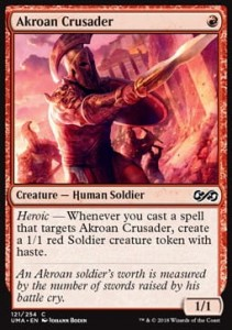 Akroan Crusader (Ultimate Masters)