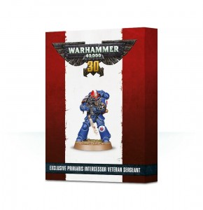 Primaris Intercessor Veteran Sergeant - Limited - WH 40K