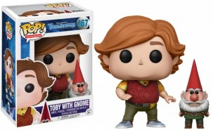 Funko POP Troll Hunters - Toby with Gnome # 467