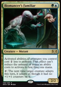 Biomancer's Familiar (Ravnica Allegiance)