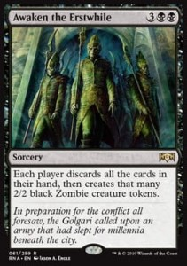 Awaken the Erstwhile (Ravnica Allegiance)