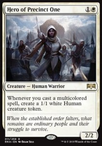 Hero of Precinct One (Ravnica Allegiance)