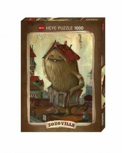 Zozoville - Neighbourhood - Puzzle 1000
