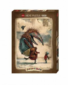 Zozoville - Spring Time - Puzzle 1000