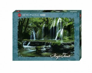 Magic Forests - Cascades - Puzzle 1000