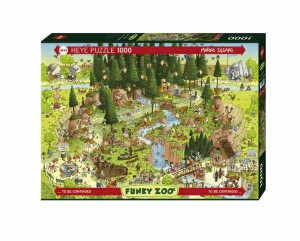 Funky ZOO - Black Forest Habitat - Puzzle 1000