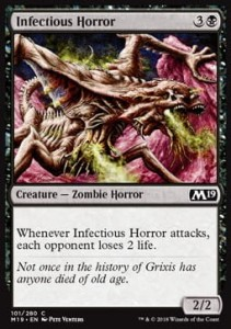Infectious Horror (M19 Core Set)