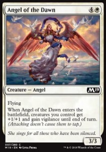 Angel of the Dawn (M19 Core Set)