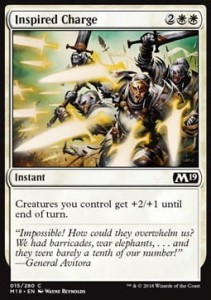Inspired Charge (M19 Core Set)