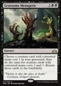 Gruesome Menagerie (Guilds of Ravnica)