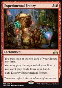 Experimental Frenzy (Guilds of Ravnica)